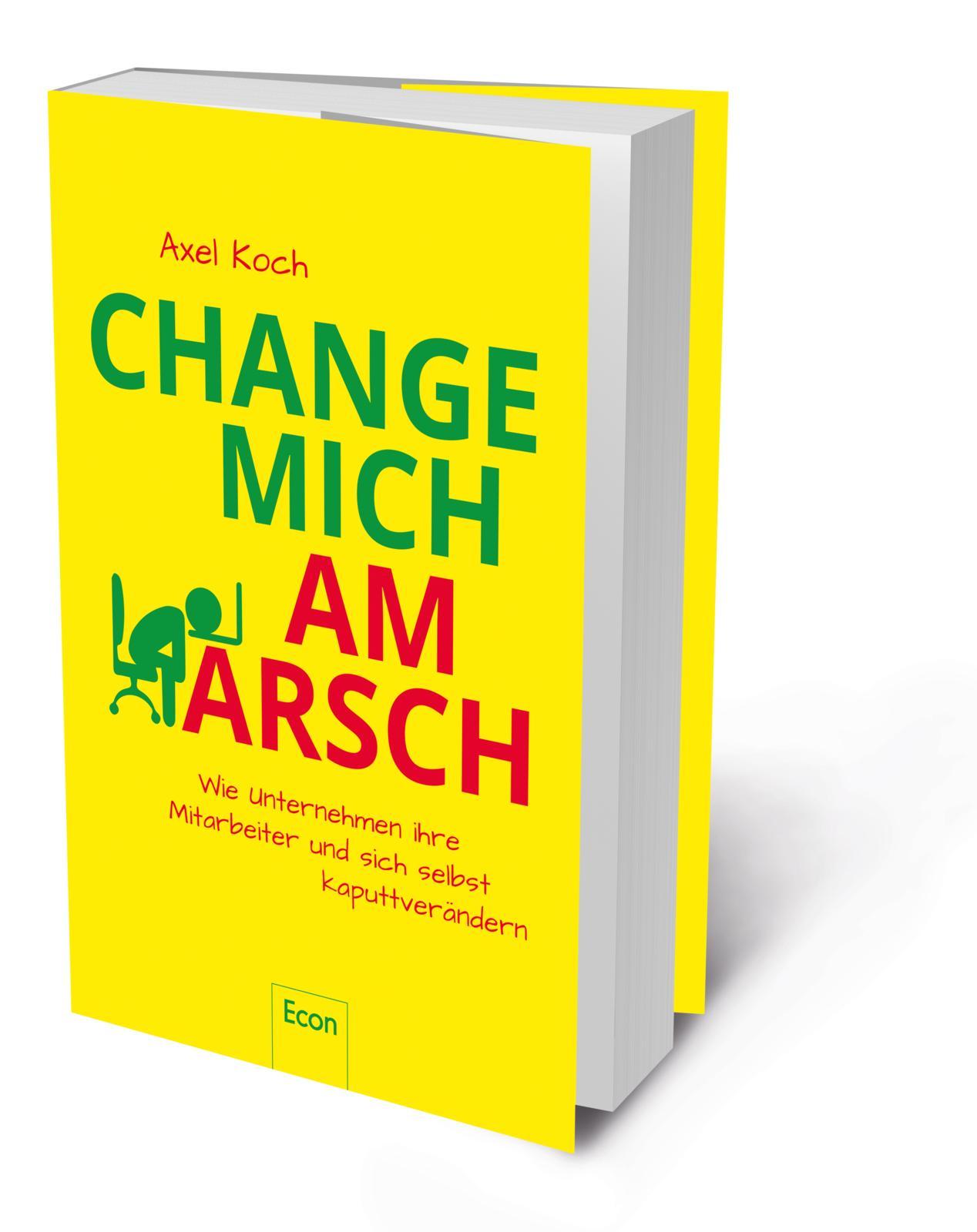 3D Cover Change mich am Arsch - Axel Koch